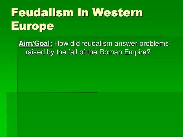 Feudalism ppt