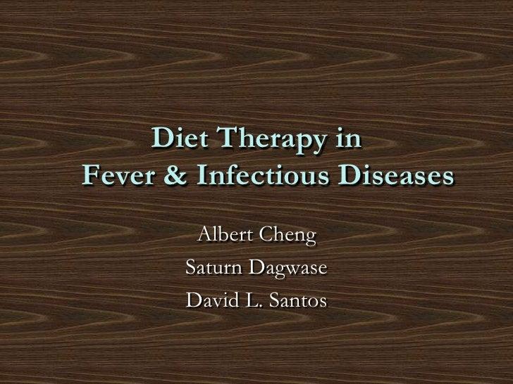 Fever & id diet final