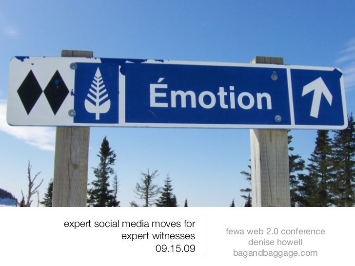 expert social media moves for                                  fewa web 2.0 conference               expert witnesses     ...