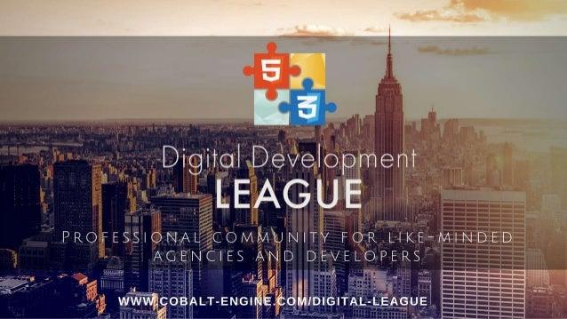 Digital Development League Presentation
