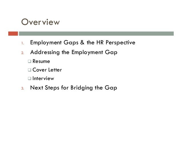 Cover Letter Explaining Employment Gap Sample