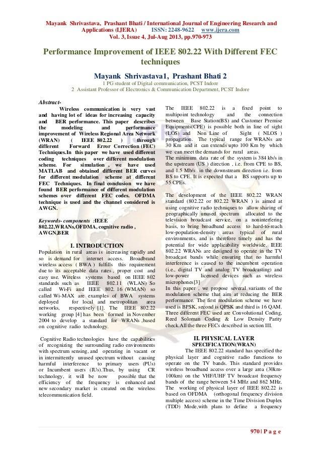 Mayank Shrivastava, Prashant Bhati / International Journal of Engineering Research and Applications (IJERA) ISSN: 2248-962...