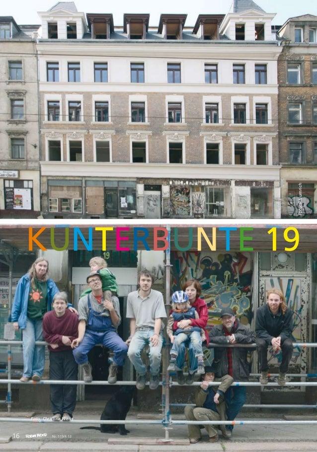 titel KUNTERBUNTE 19 Foto: Christina Weiss 16 Foto:PNumrich Nr. 119/4.13