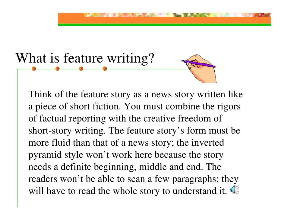 creative writing structure short