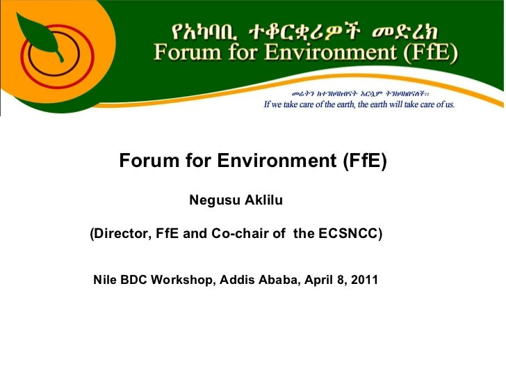 Forum for Environment (FfE)