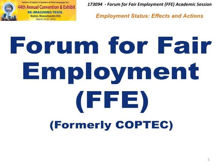 Ffe Presentation 2010 03