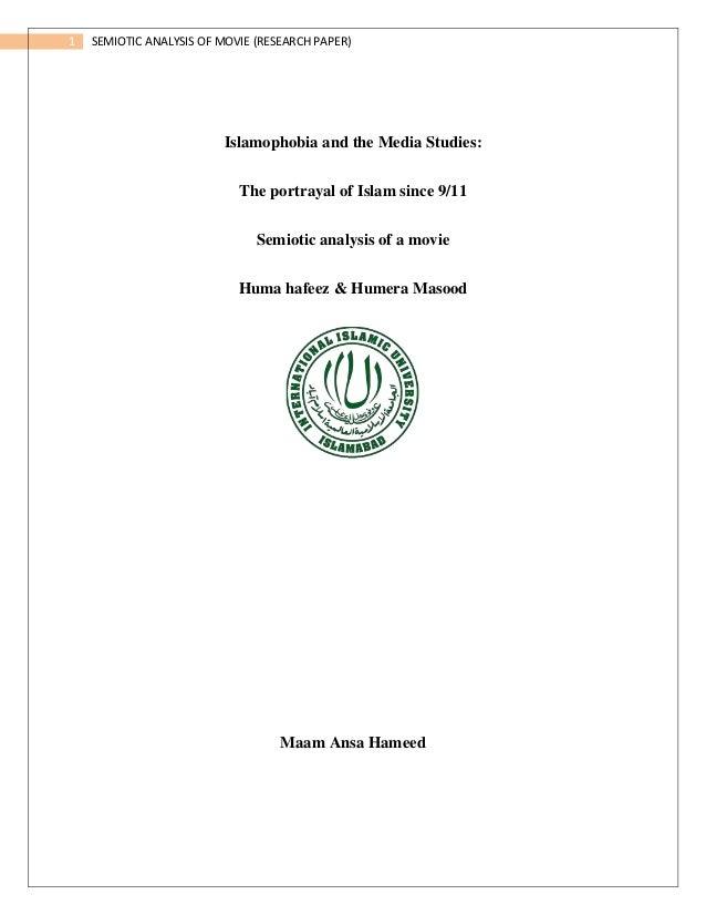 media research paper