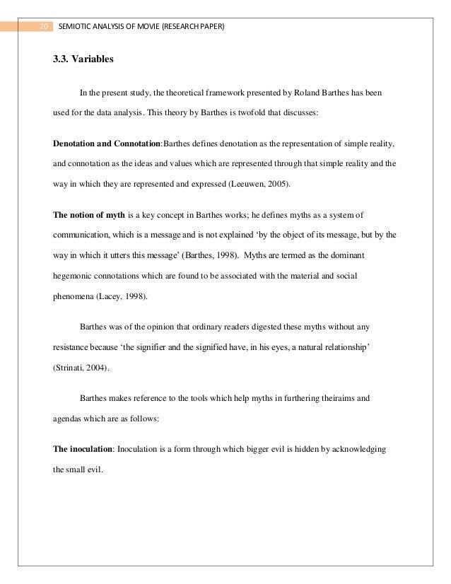 research paper handout