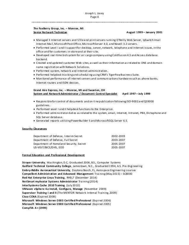 Cisco network admission control minnesota resume