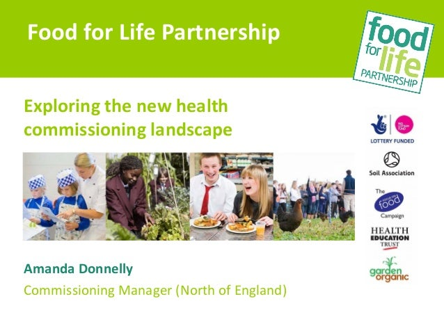 Exploring the new healthcommissioning landscapeAmanda DonnellyCommissioning Manager (North of England)Food for Life Partne...