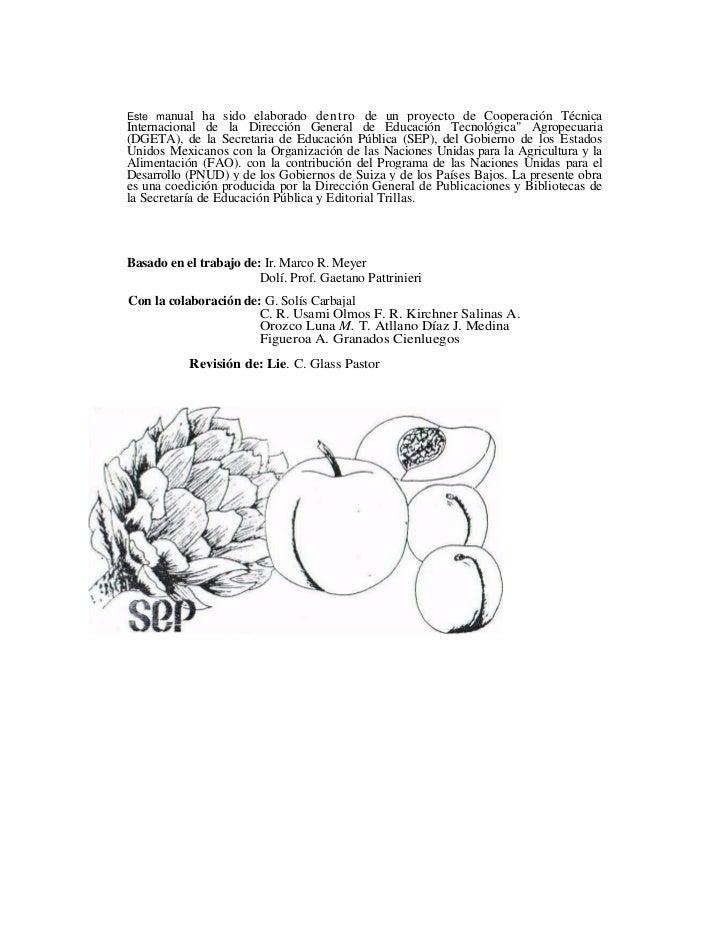Este manual    ha sido elaborado dentro de un proyecto de Cooperación Técnica Internacional de la Dirección General de Edu...