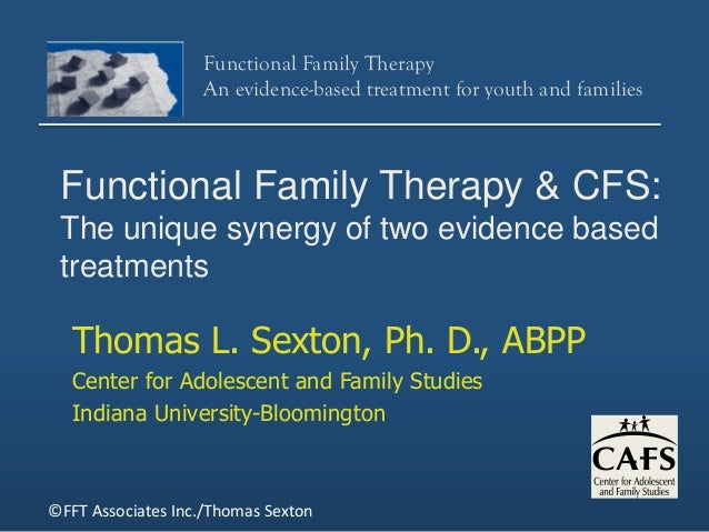 comparing functional family therapy fft and multisystemic therapy mst Functional family therapy is a family-based to adequately use multisystemic community to compare youths receiving fft with youths who.