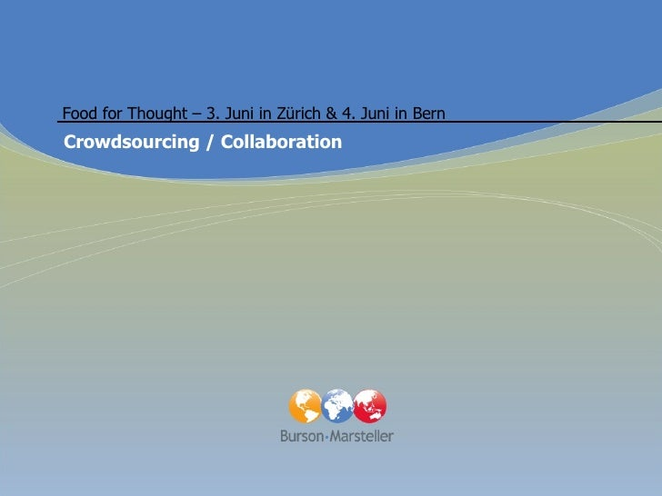 Crowdsourcing & Open Collaboration