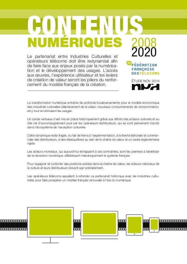 La transformation numérique entraîne de profonds bouleversements pour le modèle économique des industries culturelles (dép...