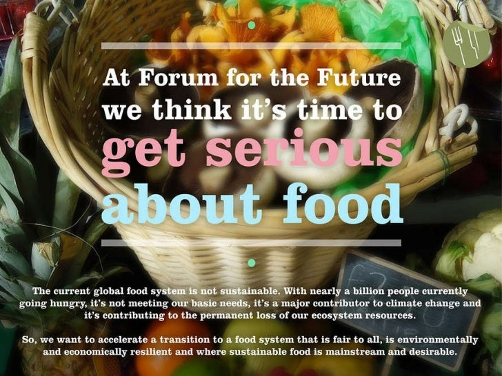 Innovation and the food system