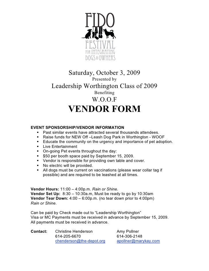 Ff Vendor Form Final