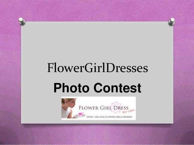 FlowerGirlDresses Photo Contest