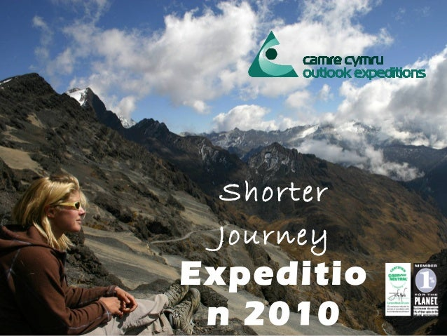 Shorter Journey Expeditio n 2010