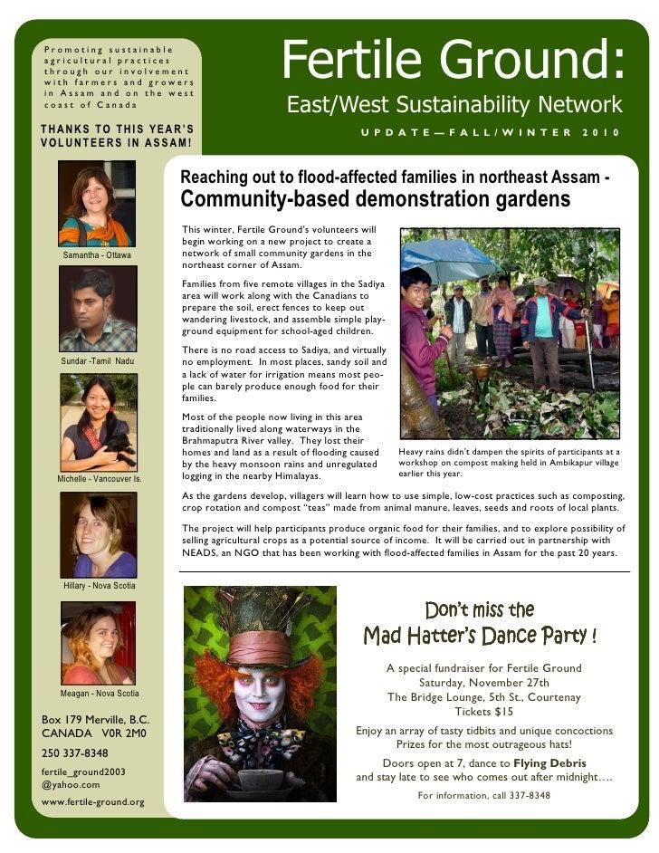 Fg newsletter fall 2010