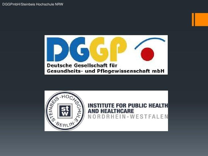 DGGPmbH/Steinbeis Hochschule NRW