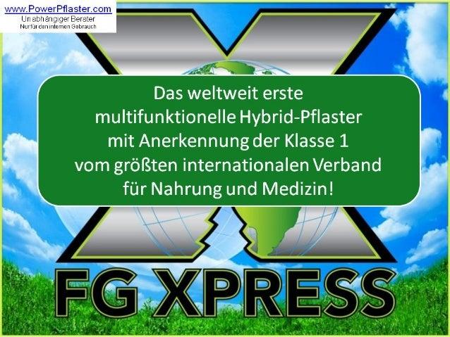 FG Xpress PowerStrips(TM) Webinar Deutsch 03.11.2013