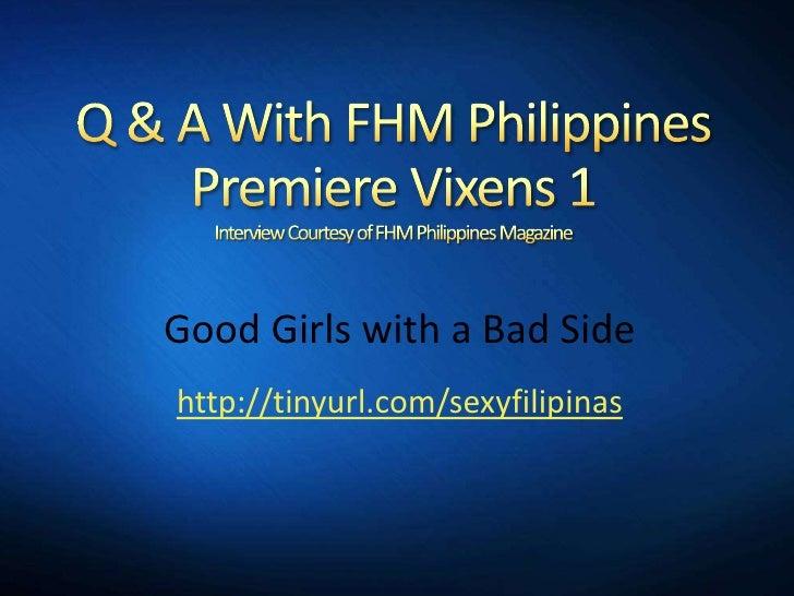 FHM Philippines PremiereVixens 1