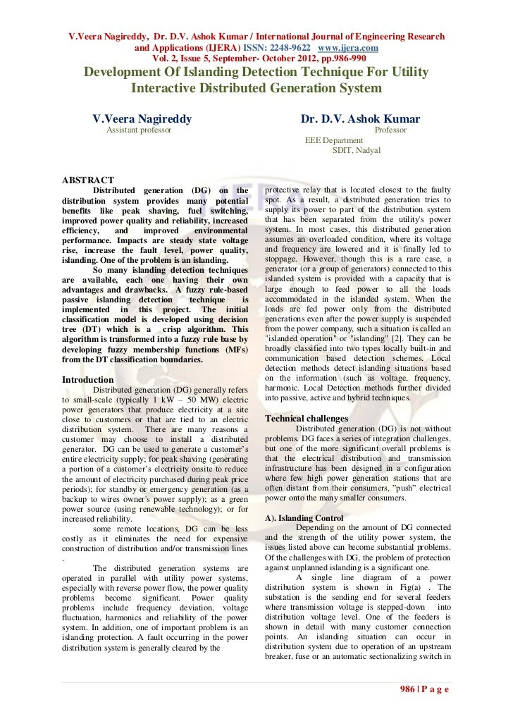 V.Veera Nagireddy, Dr. D.V. Ashok Kumar / International Journal of Engineering Research                and Applications (I...