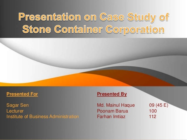 Presented For                            Presented BySagar Sen                                Md. Mainul Haque   09 (45 E)...