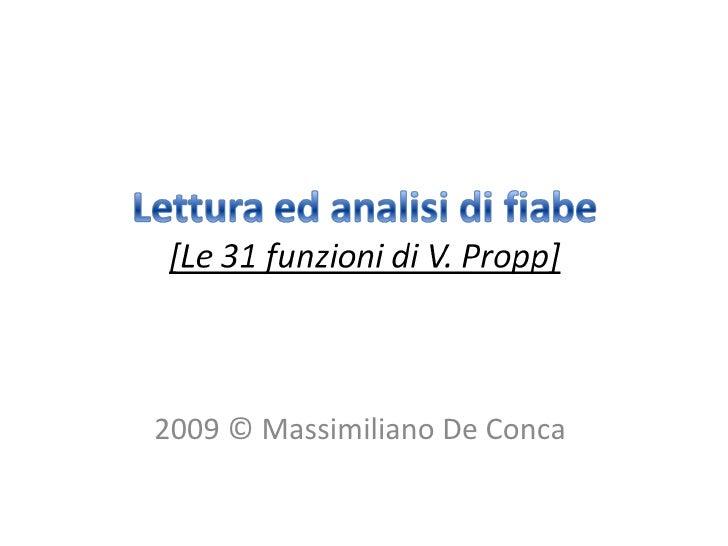 2009 © Massimiliano De Conca