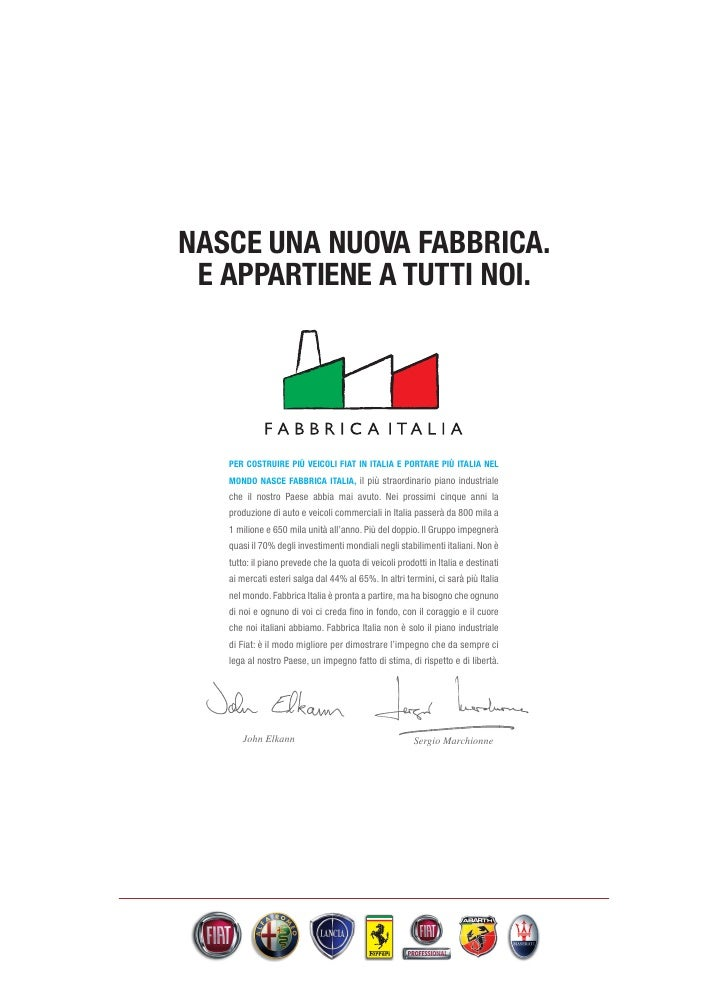 Fiat FABBRICA ITALIA
