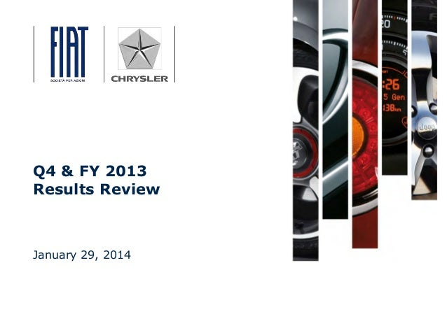 Fiat Chrysler Q4 & FY 2013 Results Review