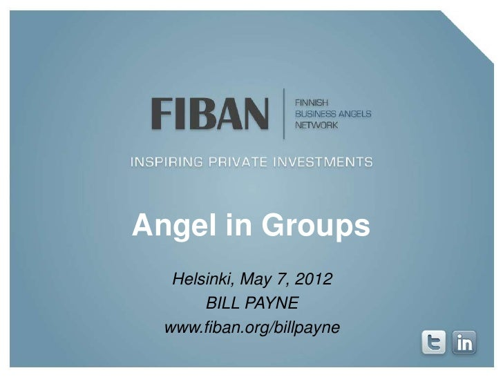 FiBAN - Angels in groups - By Bill Payne