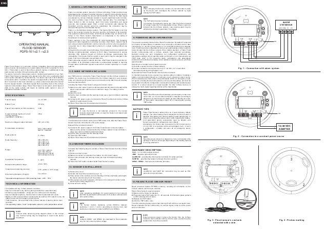 Fibaro Flood Sensor Manual