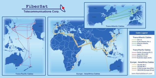 FiberSat Network Map