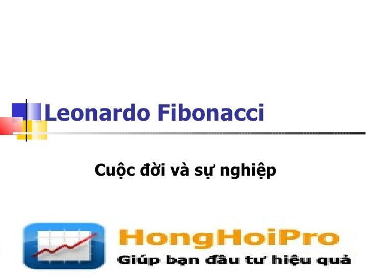 Leonardo Fibonacci    Cuộc đời và sự nghiệp