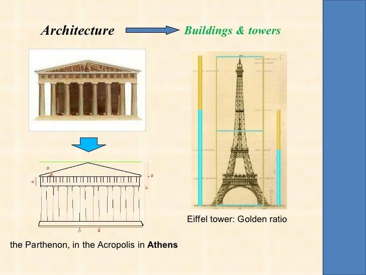 Fibonacci gold number for Fibonacci architecture