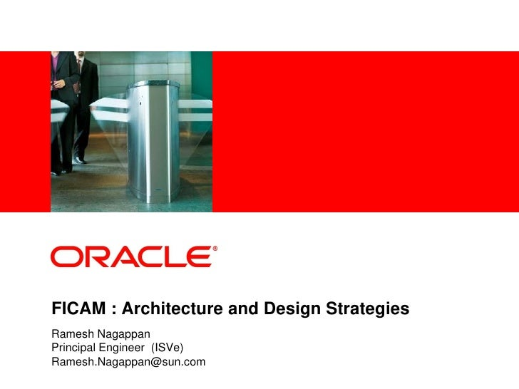 ICAM - Demo Architecture review