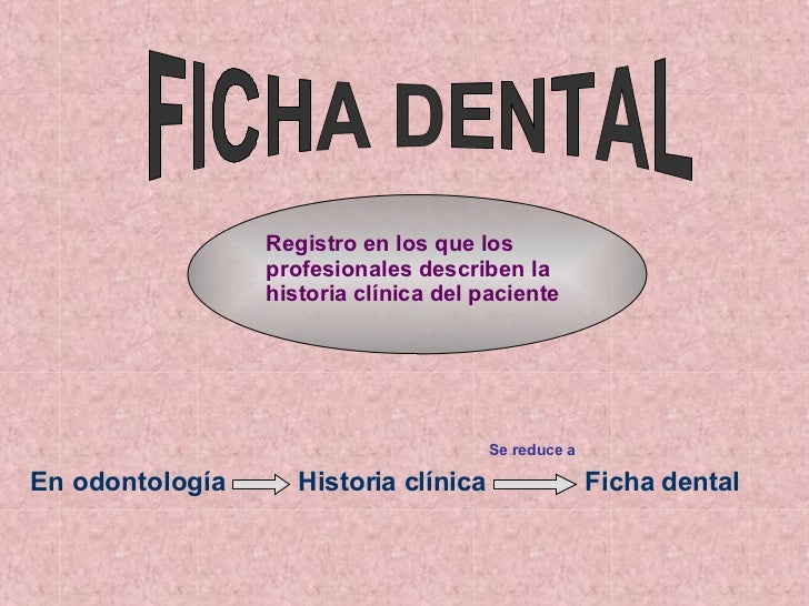 Ficha Dental