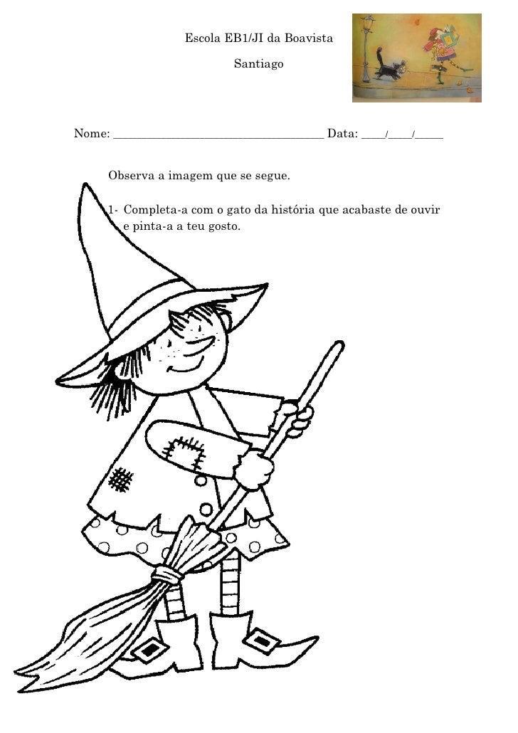 Escola EB1/JI da Boavista                                SantiagoNome: ____________________________________________ Data: ...