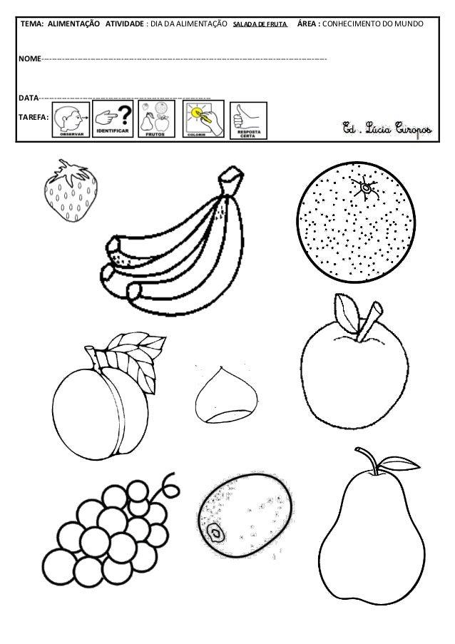 Ficha da salada de fruta