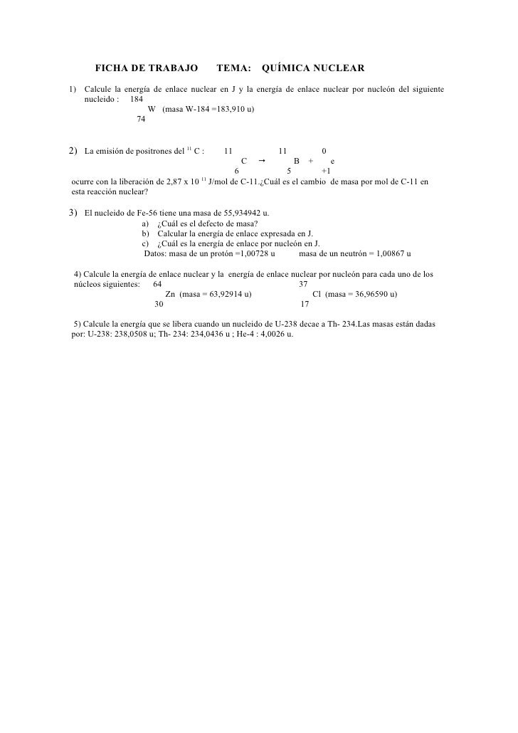 Ficha de trabajo nº 2 cálculos