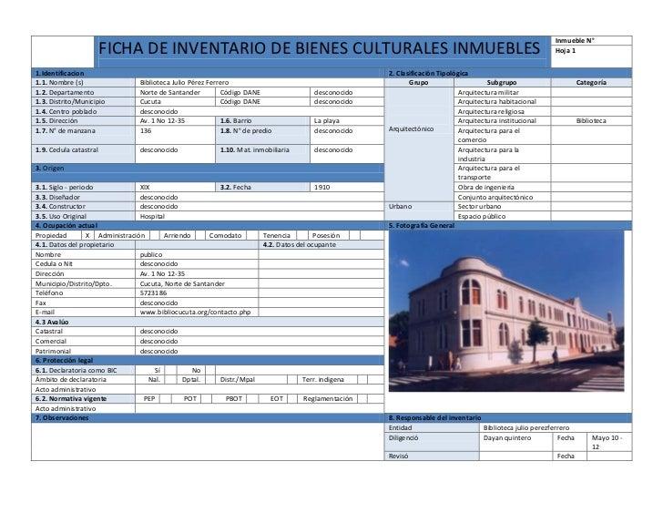 Ficha inventario dayan quintero 1 for Paginas de inmuebles