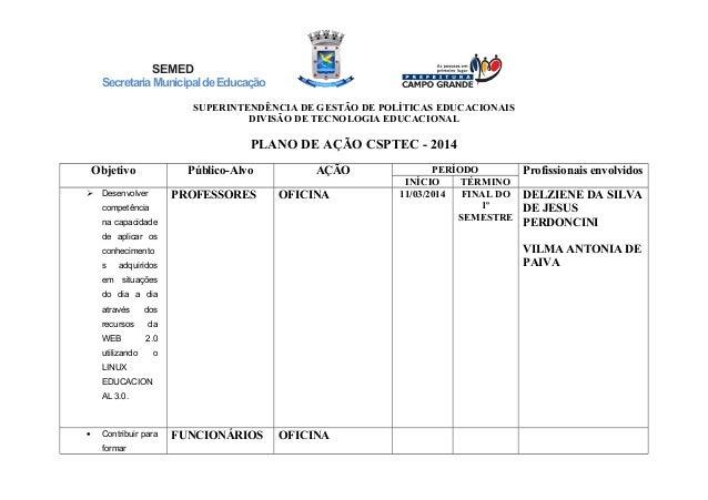 SEMED SecretariaMunicipaldeEducação SUPERINTENDÊNCIA DE GESTÃO DE POLÍTICAS EDUCACIONAIS DIVISÃO DE TECNOLOGIA EDUCACIONAL...