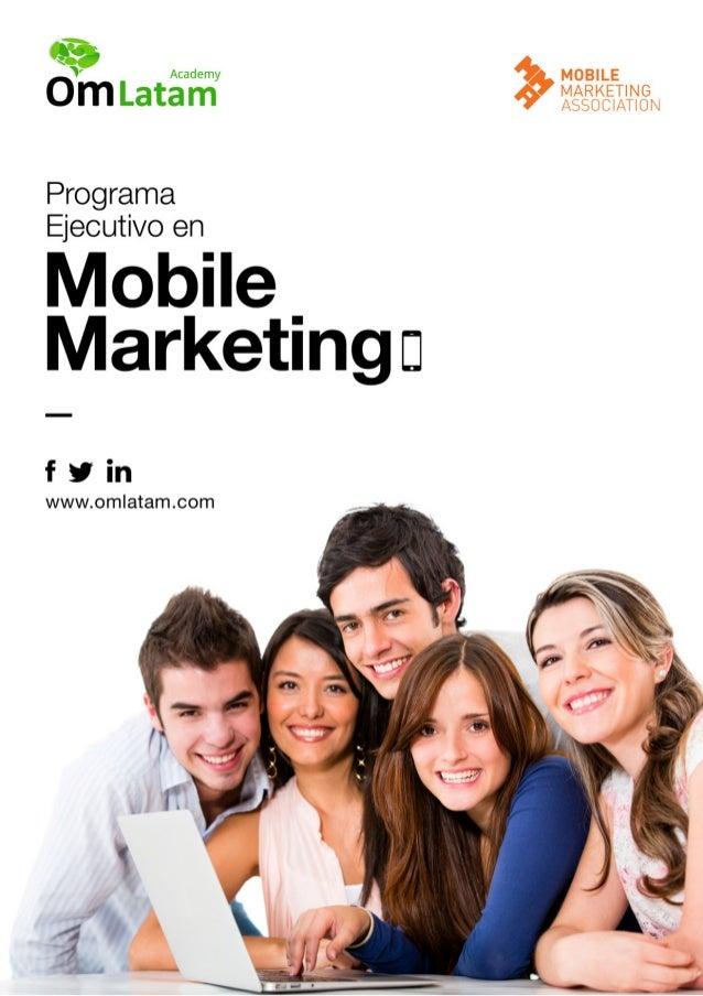 Contenidos del Programa Ejecutivo en Mobile Marketing OM Latam y MMA