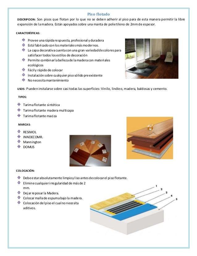 Fichas tecnicas acabados en pisos - Como colocar microcemento ...