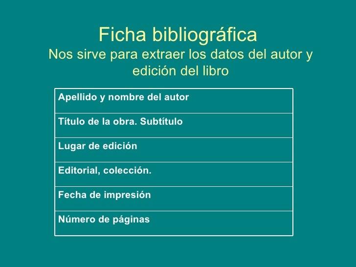 Modelo De Fichas Bibliograficas