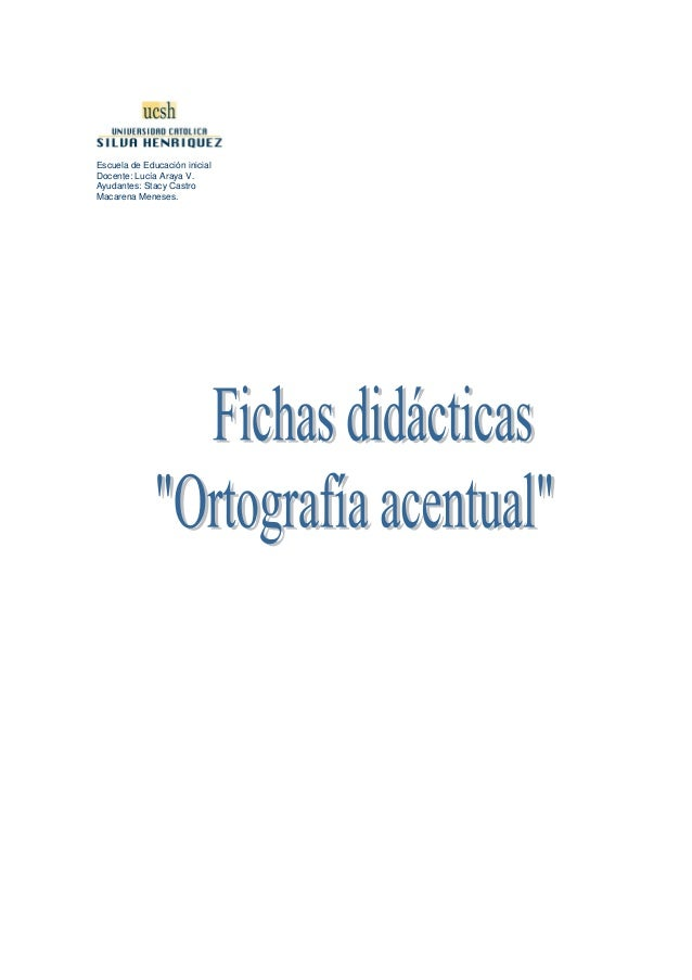 Fichasdidcticas1ortografiaacentual 120203115818-phpapp02