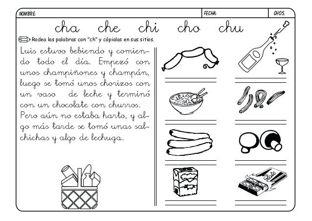 Palabras que empiecen con ch - Imagui