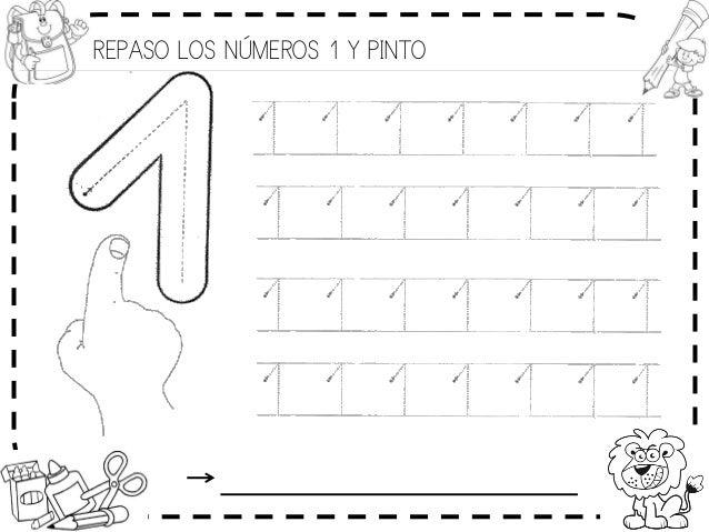 REPASO LOS NÚMEROS 1 Y PINTO