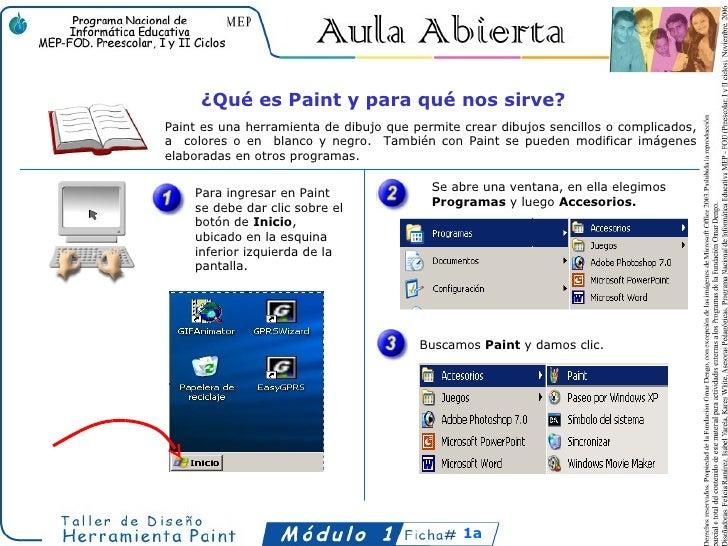 ¿Qué es Paint y para qué nos sirve?Paint es una herramienta de dibujo que permite crear dibujos sencillos o complicados,a ...